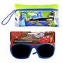 Kit Óculos De Sol Infantil Carros E Estojo Monstros Disney