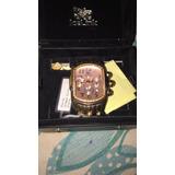 Reloj Ice Link Ice Phat Oro Rosa Bizel De Diamantes