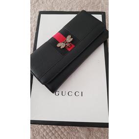 Billetera Negra Gucci Sin La Marca