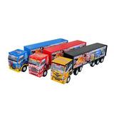 Brinquedo - Caminhão Articulado Scania Furgão Ref. 108