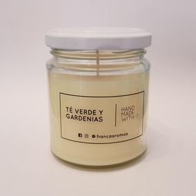 Velas Aromatica Té Verde Y Gardenias