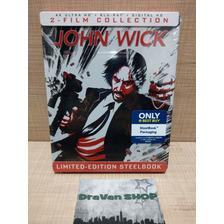 John Wick 1 Y 2 4k Steelbook Blu Ray Pelicula