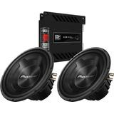 Par Cara Preta Pioneer 12 Ts-w3090br 600w + Banda Ice 1202