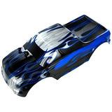 Cuerpo Camioneta (escala 1/10) Negro Azul