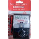 Tester Sunma Analogico Modelo Yx-1000 A. Incluye Bateria Aa
