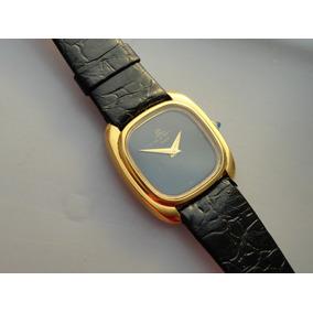 73d3708c9cb Relógio Baume Mercier Geneve Slim Plaque Ouro Suiço Antigo ...