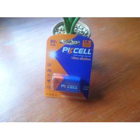 Batería 9v Ultra Alcalina Piscell, Pila Cuadrada