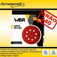 Disco Lixa 225mm Lixadeira De Teto C/10 Un Original Wbr 240