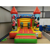 Brincolin Inflable Castillo Mickey Mouse 3x4