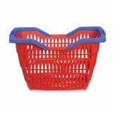 Kit 15 Cesta Cestinha Plastica Supermercado Mercado