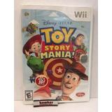 Wii Toy Story Mania Sellado De Fabrica