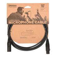 Cable Xlr Canon 3 Metros Microfono Daddario Pw-cmic-10