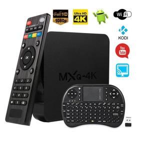 Tv Box Mxq 4k Android Netflix Youtube Kodi + Mini Teclado