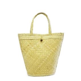Bolsa Sacola De Palha Echo Basket Feminina