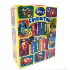 Libro Disney 12 Libritos Favoritos De Disney Pixar