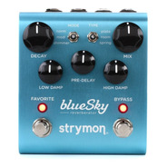 Pedal Strymon Bluesky Reverberator Reverb Novo Lacrado Nf