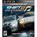 Need For Speed Shift 2 Unleashed Ps3 Digital Español