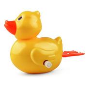 Brinquedo Banho Divertido Patinho De Corda De Nadar Banheira