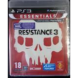 Juego Ps3 Resistance 3 - Essenti ( Original Fisico Sellado )