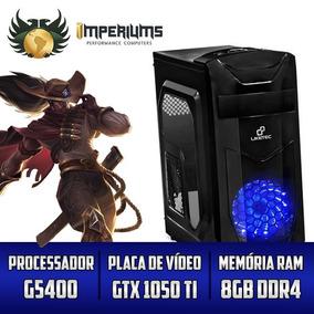 Computador Imperiums G5400, Gtx 1050ti 4gb, 8gb, Hd 1tb