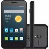 Celular Libre Alcatel Pixi 3 4,5 Negro 4g Cam 5mpx 4gb Fm