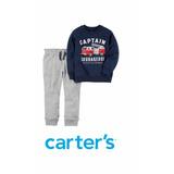Conjunto Carters Buzo Jogging Pantalón Bebé Nene Importado