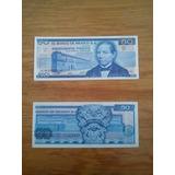 Lote De 6 Billetes Antiguos 50 Pesos Benito Juarez