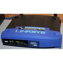 Router Marca Linksys Modelo Wrt54gl Con Dd-wrt Instalado