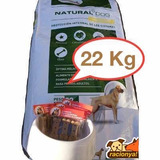 Natural Dog 22kg+comedero O Pala +snack+envio