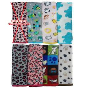 Manta Cobertor Cachorro E Gato Pet 80 Cm X80 Cm Rosa Animais