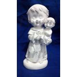 Kit 20 Imagens Santo Antonio Em Gesso Infantil (baby) 15 Cm