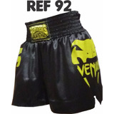 Kit 6pçs Shorts Calção Cetim Muay Thai Ufc Mma Cod.92970003p