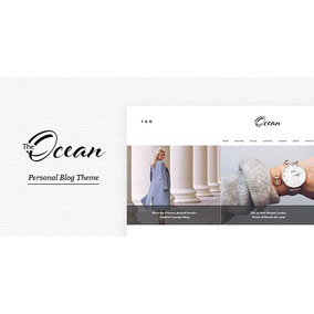 Ocean - Personal Blog Template For Travelers And Dreamers