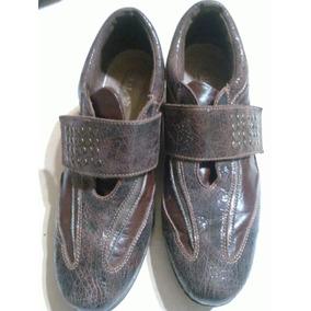 Zapatilla Con Taco Chino Tipo Zapato