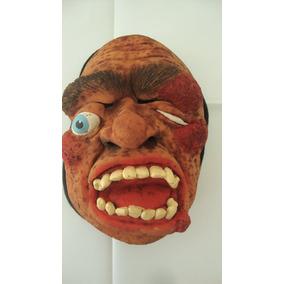 Máscara Borracha - Terror C/ Capuz 1