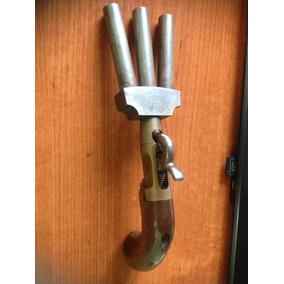 Vendo Pistola Antigua De Tres Cañones 300 Dolares