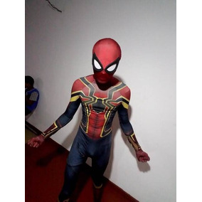 Traje Spiderman Infinity War Iron Spider