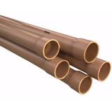 Tubo Soldável Pressão (marrom) Pvc 25mm - Barra 6 Metros