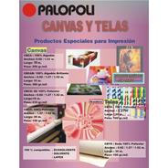 Tela 100% Poliester Para Impresion Digital - Palopoli Cbta