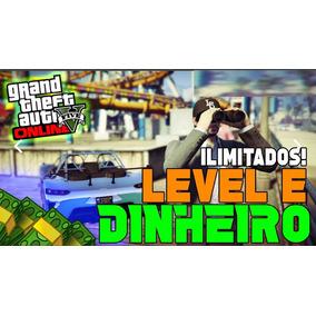 Gta V Grand Theft Auto V Pc - Dinheiro E Level $100 Milhões