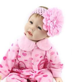 Boneca Bebê Reborn Pronta Entrega 55 Cm
