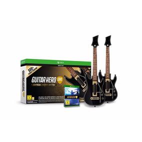 Guitar Hero Live Xbox One Físico 2 Guitarras + 500 Canciones