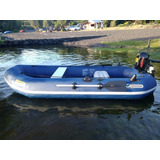 Bote De Pesca Inflable Nuevo Espectacular (motor Opcional)