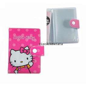 Carteira Porta Cartão Visita Crédito Hello Kitty Pink Sanrio