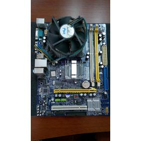 Tarjeta Madre Foxconn G31mv-k Usada+cpu Intel - Para Reparar