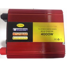 Conversor 12v P/ 220v Transformador Veicular Inversor 4000w