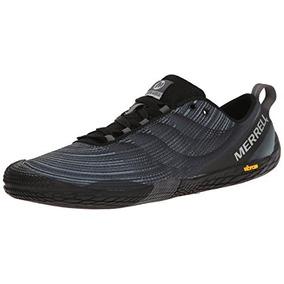 Merrell - Zapatillas De Running Vapor Glove 2 Trail, Negro