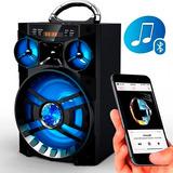 Caixa Som Amplificada Fm Usb Sd Bluetooth Falante Ms-188bt