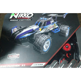 Nikko Turbo Panther X2 1:10 Scale Rc Car Recargable