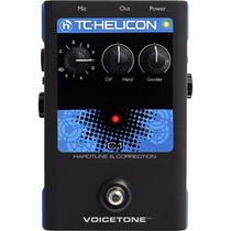 Tc Helicon Voice Tone C1 Pedal Procesador De Efecto Para Voz